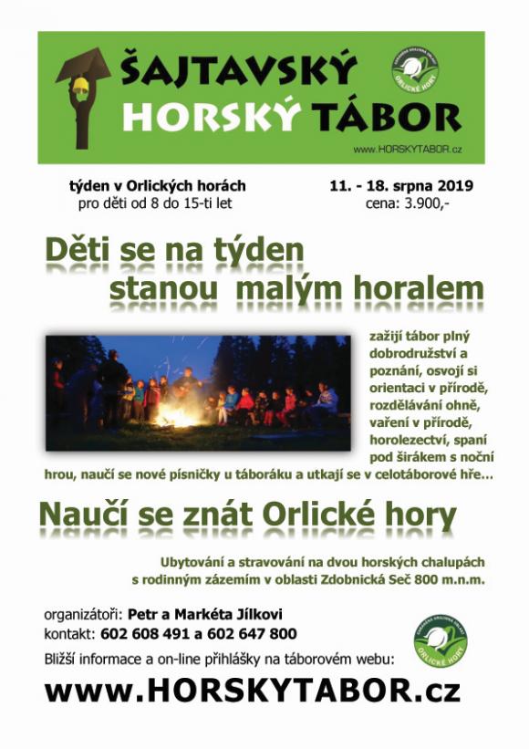 HORSKY TABOR plakat 2019