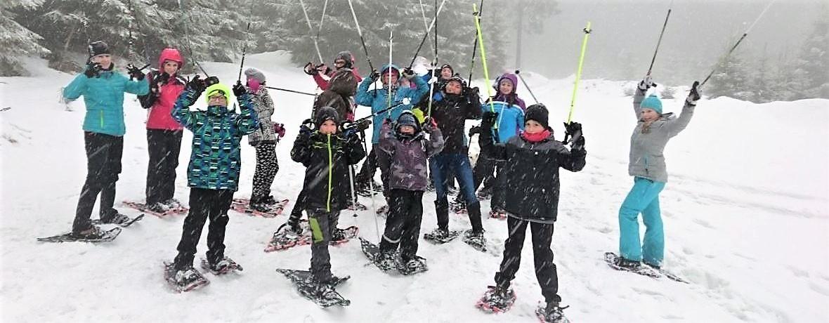 Zimní HORSKÝ tábor v Orlických horách