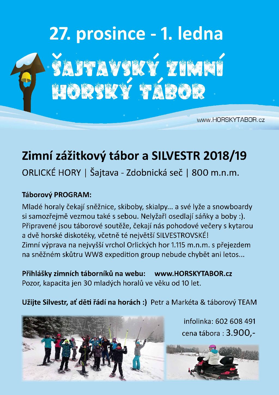 ZIMNI horsky TABOR 2018 plakat
