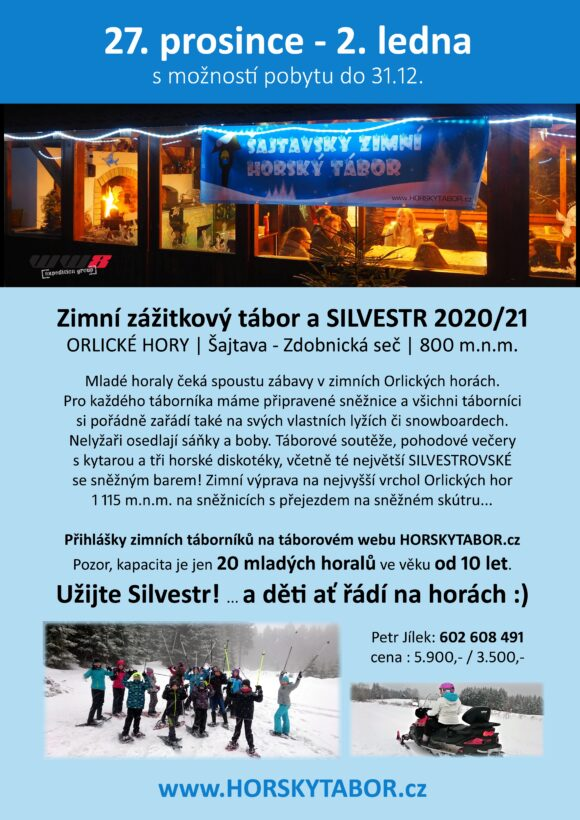 ZIMNI horsky TABOR 2020 plakat